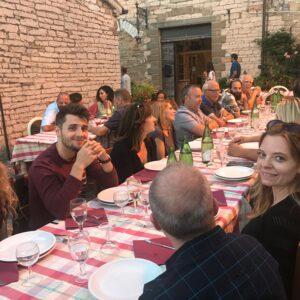 Frontone SC Dinner