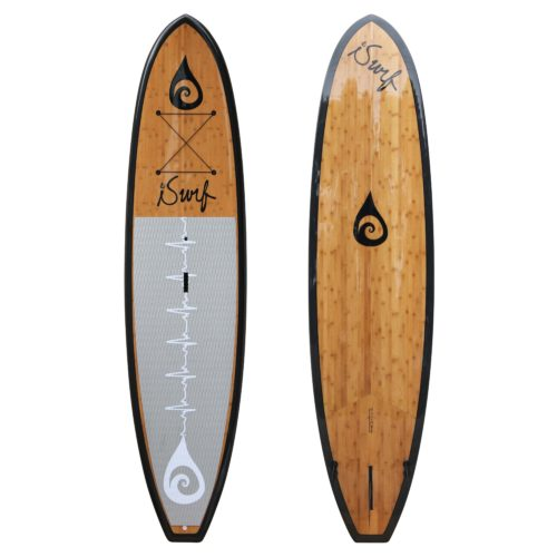 image of carbonfiber bamboo SUP
