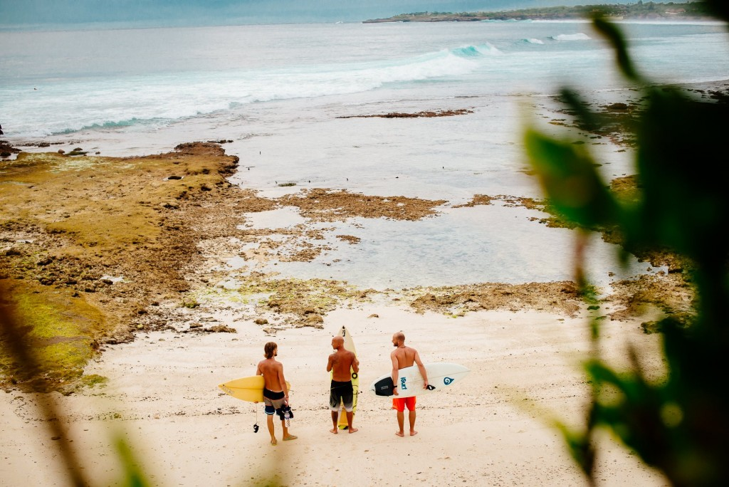 Cruising Bali with good mates.  Photo: Terje Talpsepp