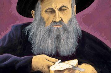 Schlomo the Rabbi by Acacia Lawson