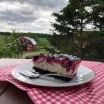 Recette : Gâteau au fromage et aux camerises