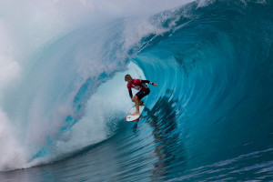Look Back: Kelly Slater and John John Florence's 2014 Teahupoo Heat