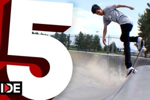 Daniel Espinoza 5-Favorite Transition Tricks