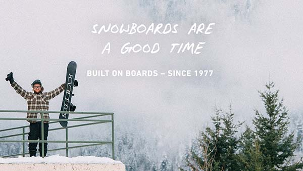 Burton Snowboards - Built on Boards