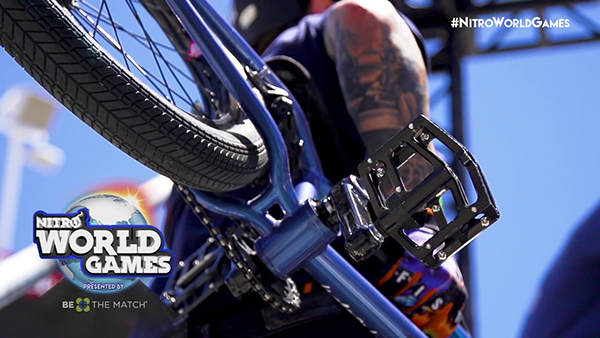 BMX Triple Hit Nitro World Games