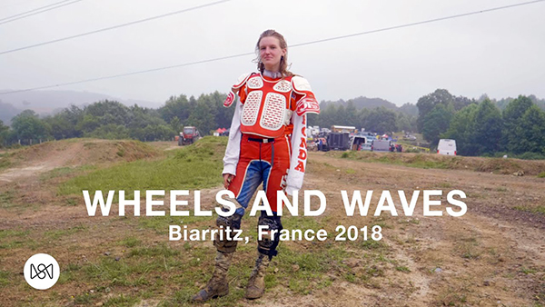 """""""Wheels and Waves"""" Festival: Biarritz, France 2018"""