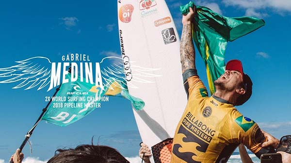 Gabriel Medina WSL World Champ