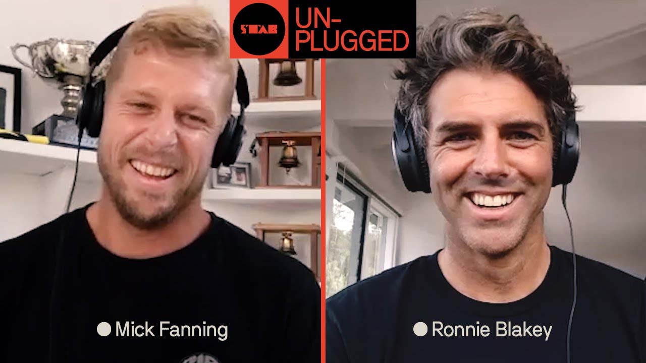 Mick Fanning and Ronnie Blakey - Stab Mag Unplugged