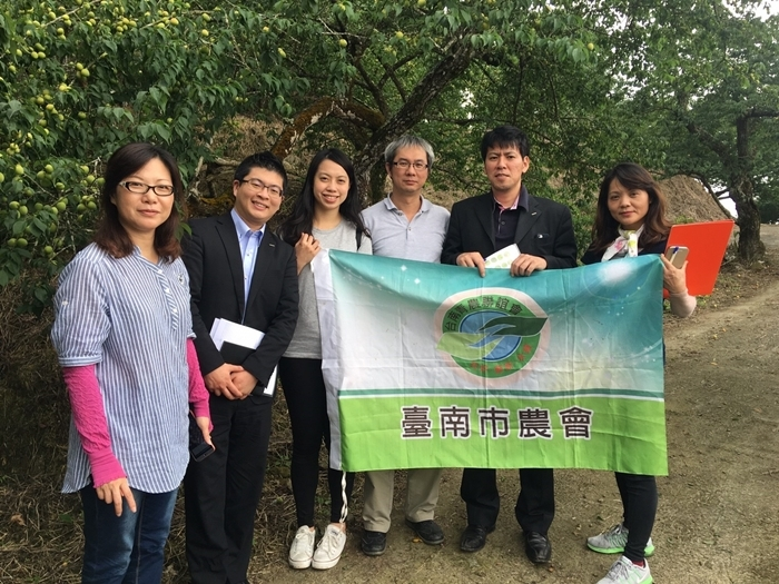 日本CHOYA參訪楠西區青農-林靜淑梅園