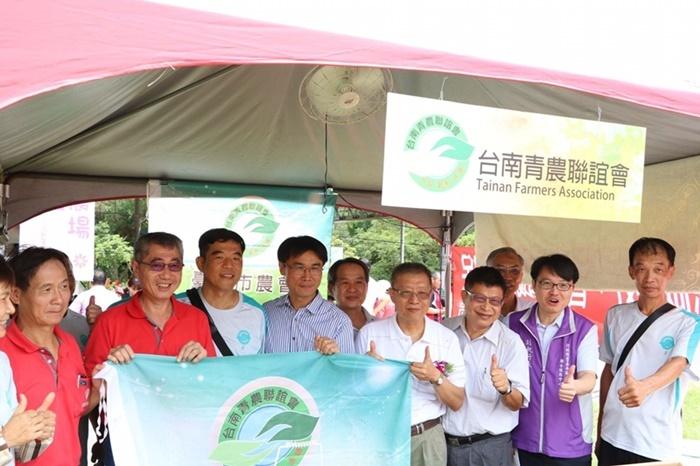 台南青農聯誼會參加玉井國際芒果節