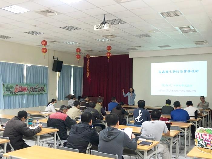 昆蟲寄生性病毒在害蟲防治的應用-臺南青農聯誼會
