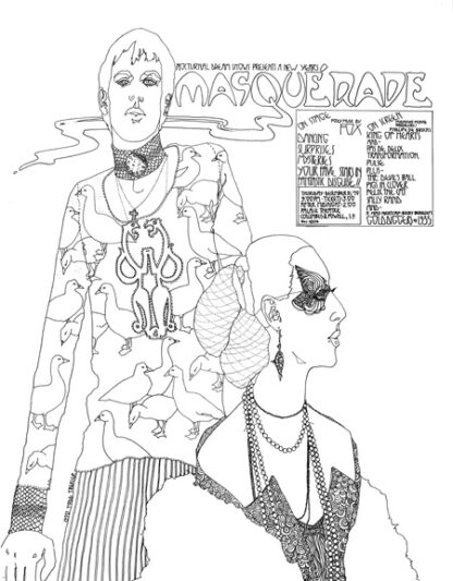 Nocturnal Dream Shows Masquerade New Years Eve Party on stage Midnight Films December 31, 1970