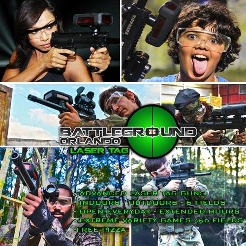 Laser Tag - Battleground Orlando