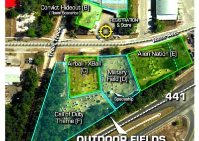 Field Layout - Aerial View