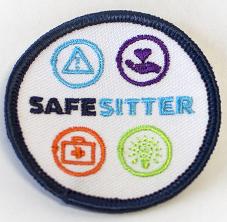 Safe Sitter Girl Scout Badge