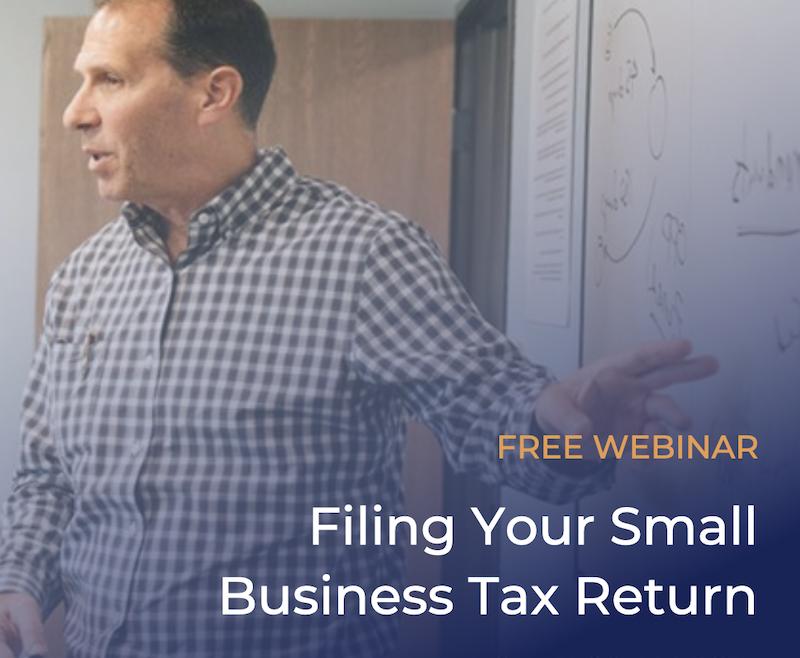 Webinar-Tax-Return