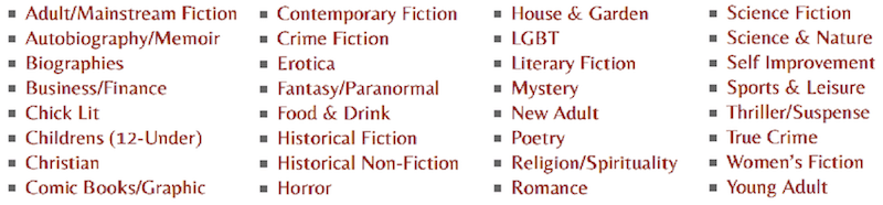Book-Review-Categories