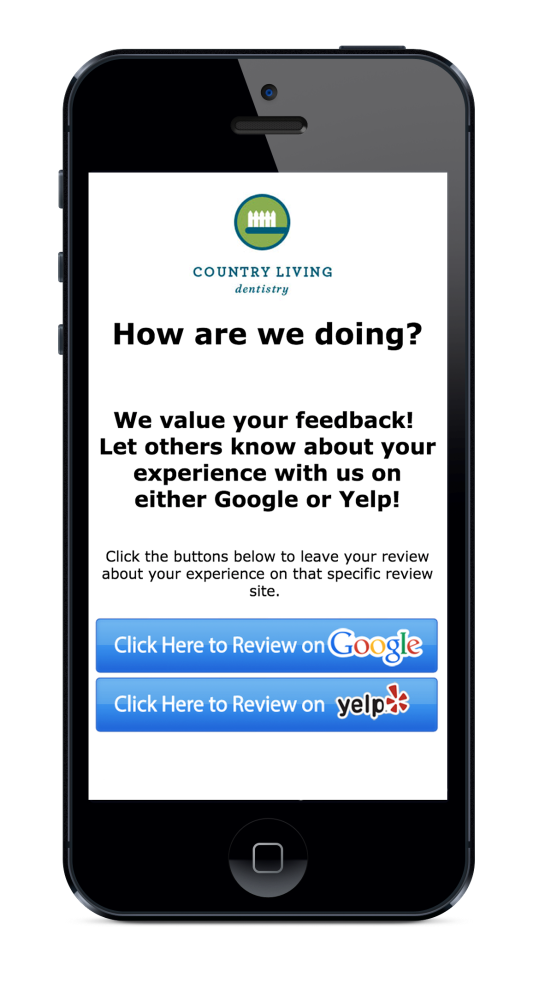 text Review tool google yelp