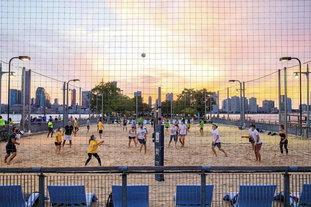 Pier 25 Beach Volleyball Courts