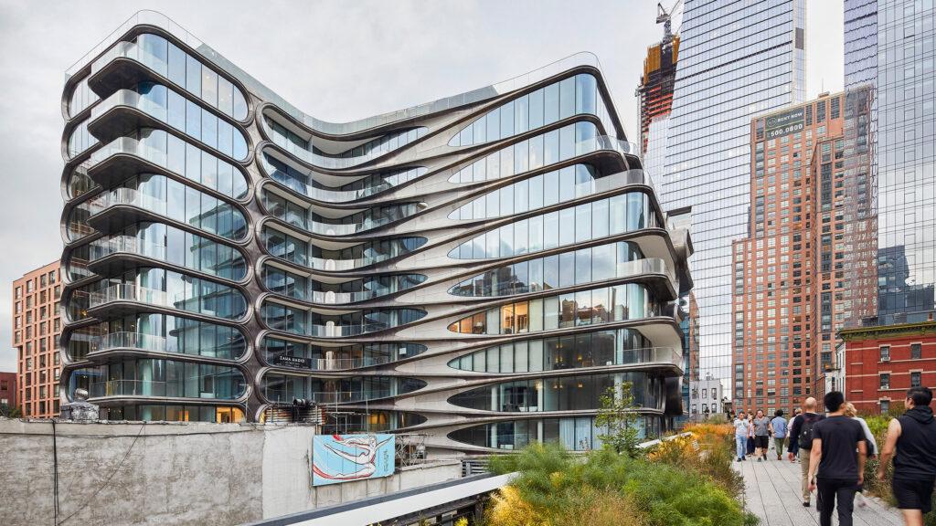 520 West 28th Street Designed by Zaha Hadid