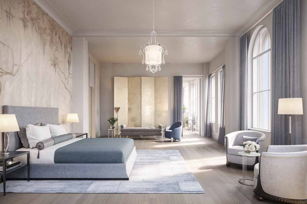 Beckford Tower Penthouse Bedroom