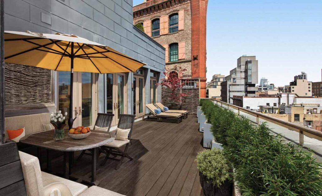 285 Lafayette Street Apt 7DE, terrace