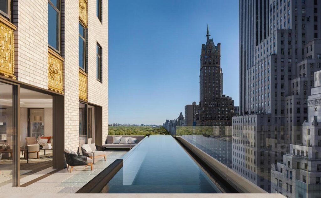 Aman New York, Residential Pool