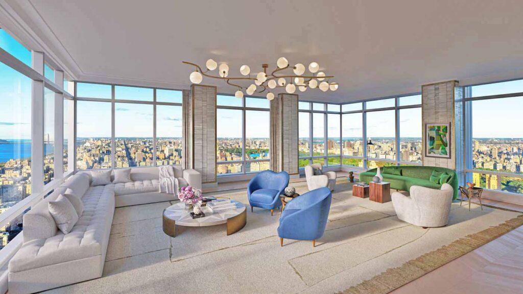 200 Amsterdam Ave., Living Room