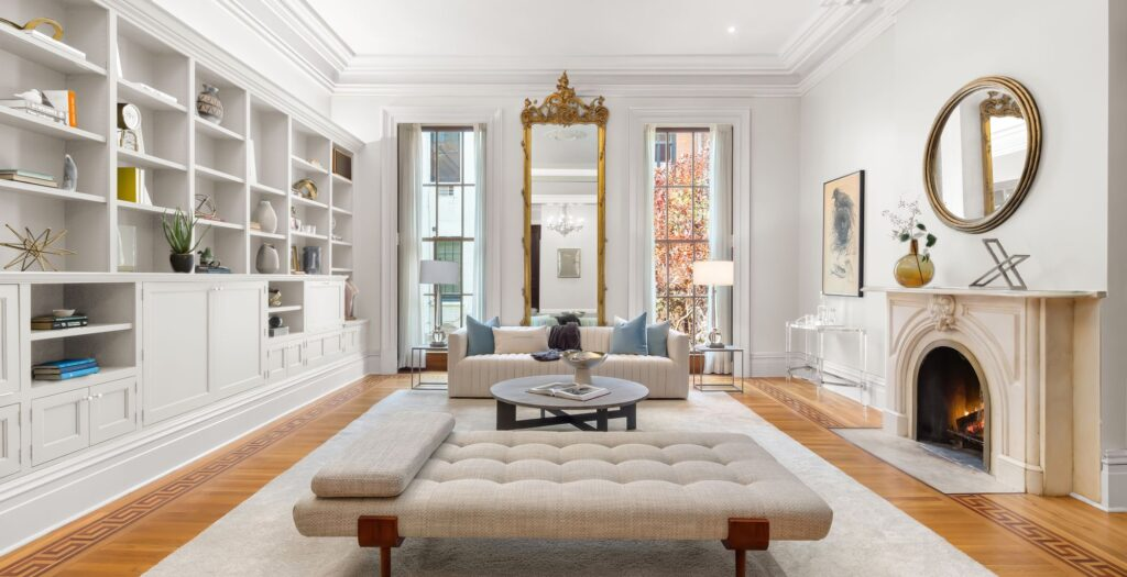 28 West 10th St., Living Room