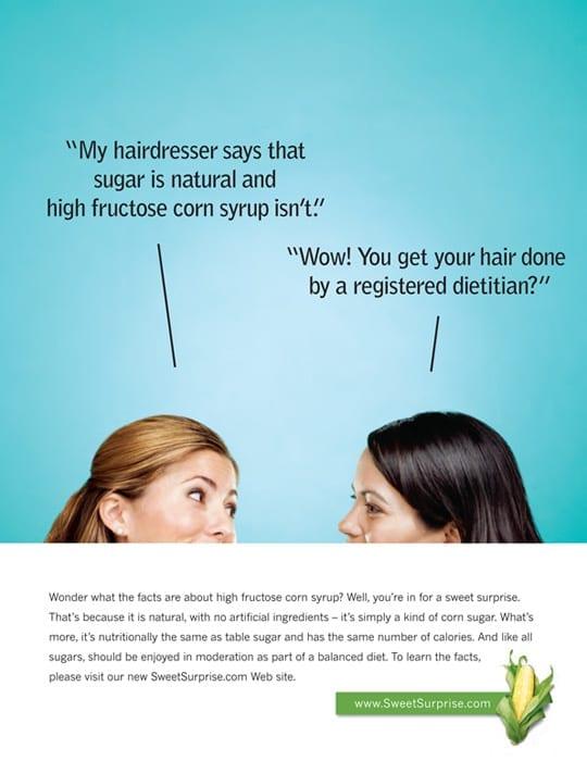 Corn Refiners Association - Hairdresser