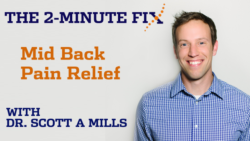 The 2-Minute Fix | Mid Back Pain Relief