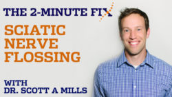 2 Minute Fix SCIATICA Nerve Flossing