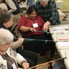 Lynn Showing Slentre braiding