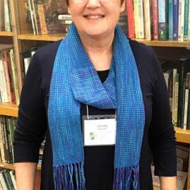 Christy Helvajian's first scarf