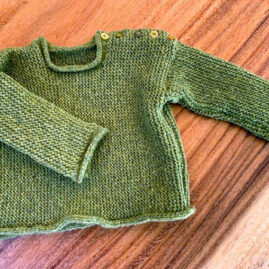 Shari Ranney baby sweater