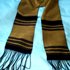 Bill Jackson's Gold Oaxacan inspired scarf