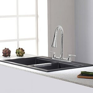 Pulldown Kitchen Faucet with 28mm Spout