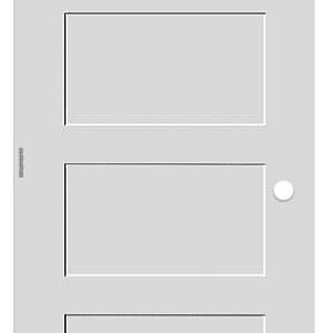 4 panel pre hung white