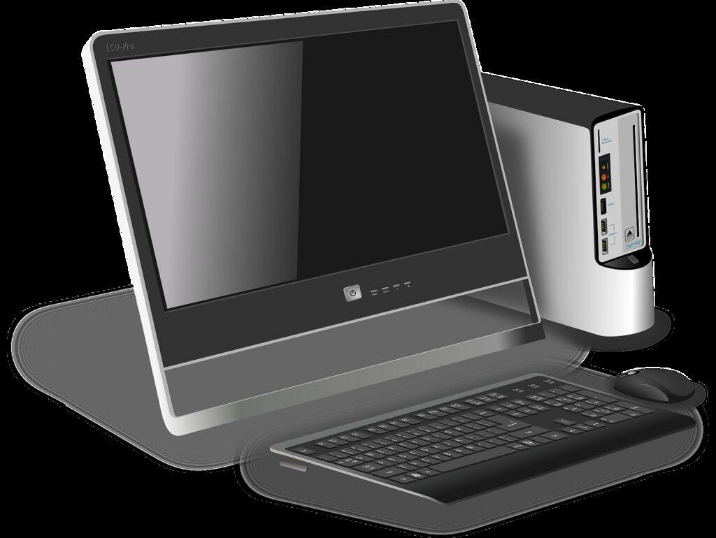 computer, desktop, modern