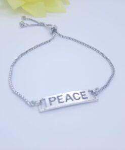 Peace Symbol Bracelets