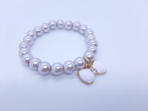 bow bracelet charm