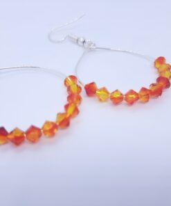 medium hoop earring for teens