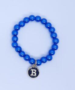 Blue pearl bracelets
