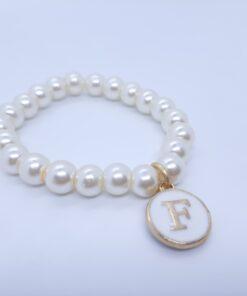 Initial Bracelet For Baby Girl