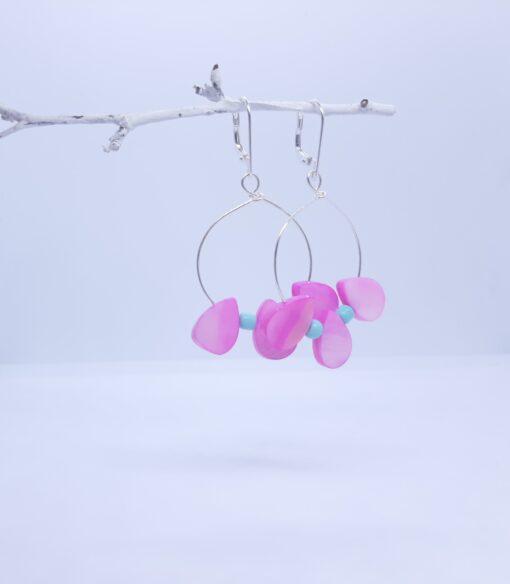 earrings on branch