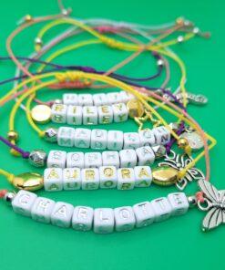 1 mm corded adjustable bracelet