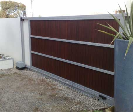We recently Installed this custom made automatic gate for a customer and received great feedback.