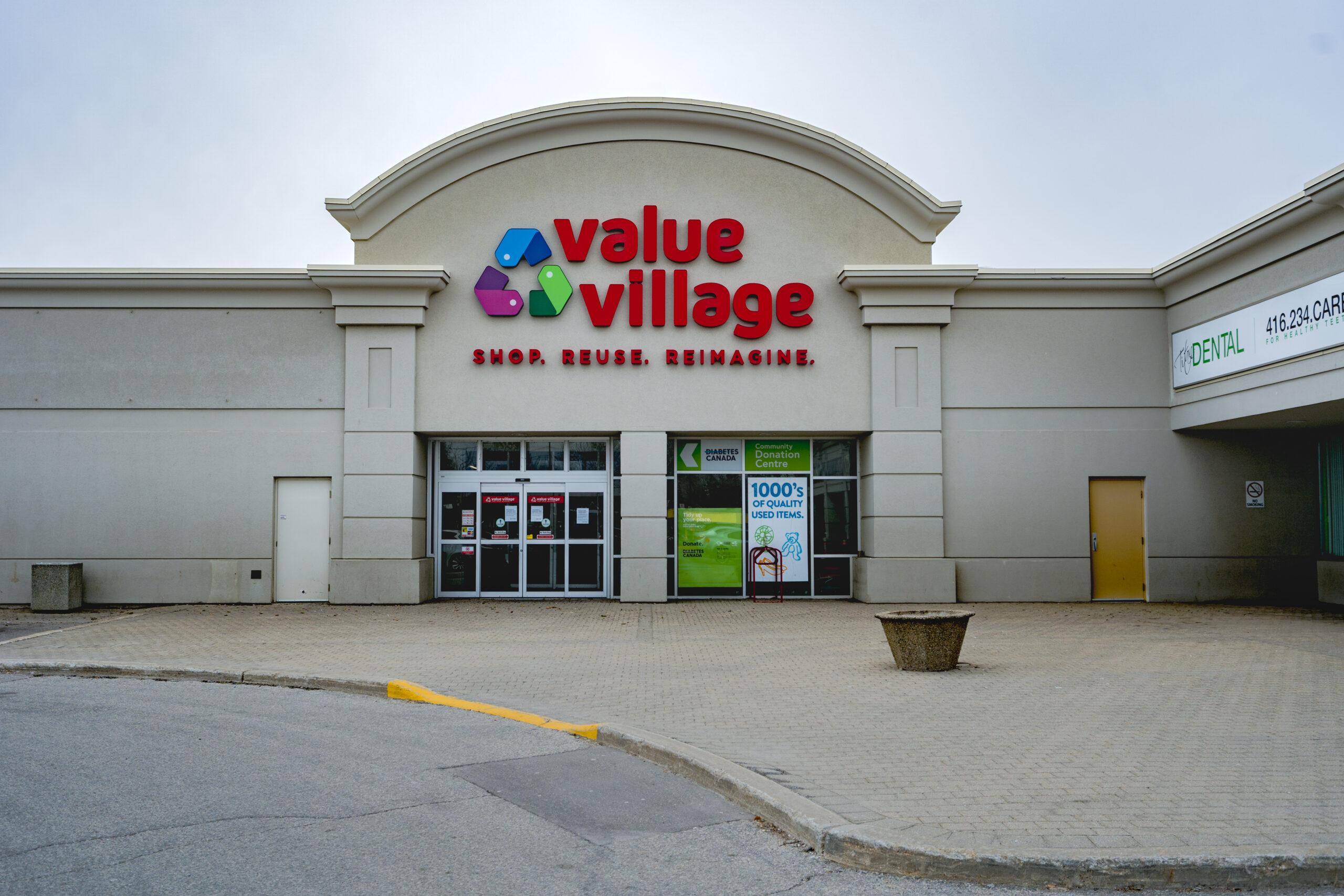 Value Village Storefront