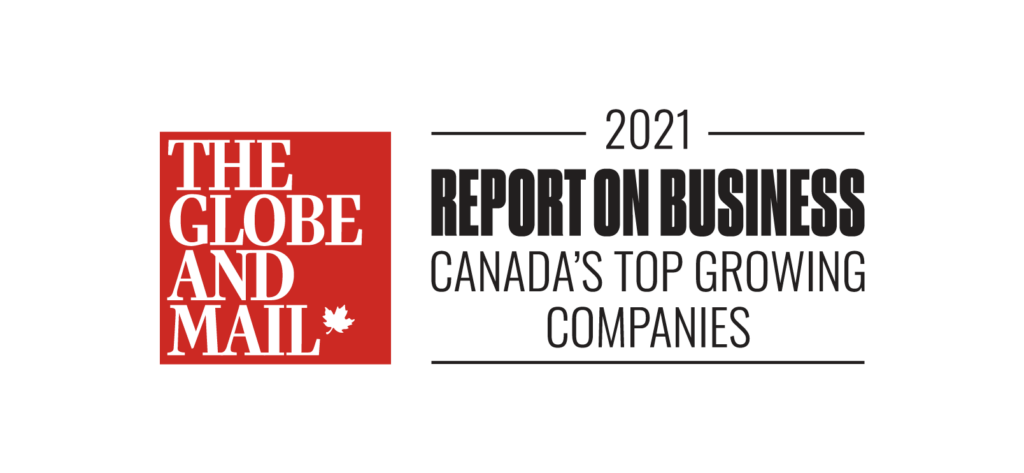Globe and Mails's Report on Business Canada's Top Growing Companies Logo