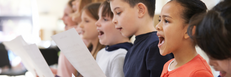 Students in the Group Voice Lessons